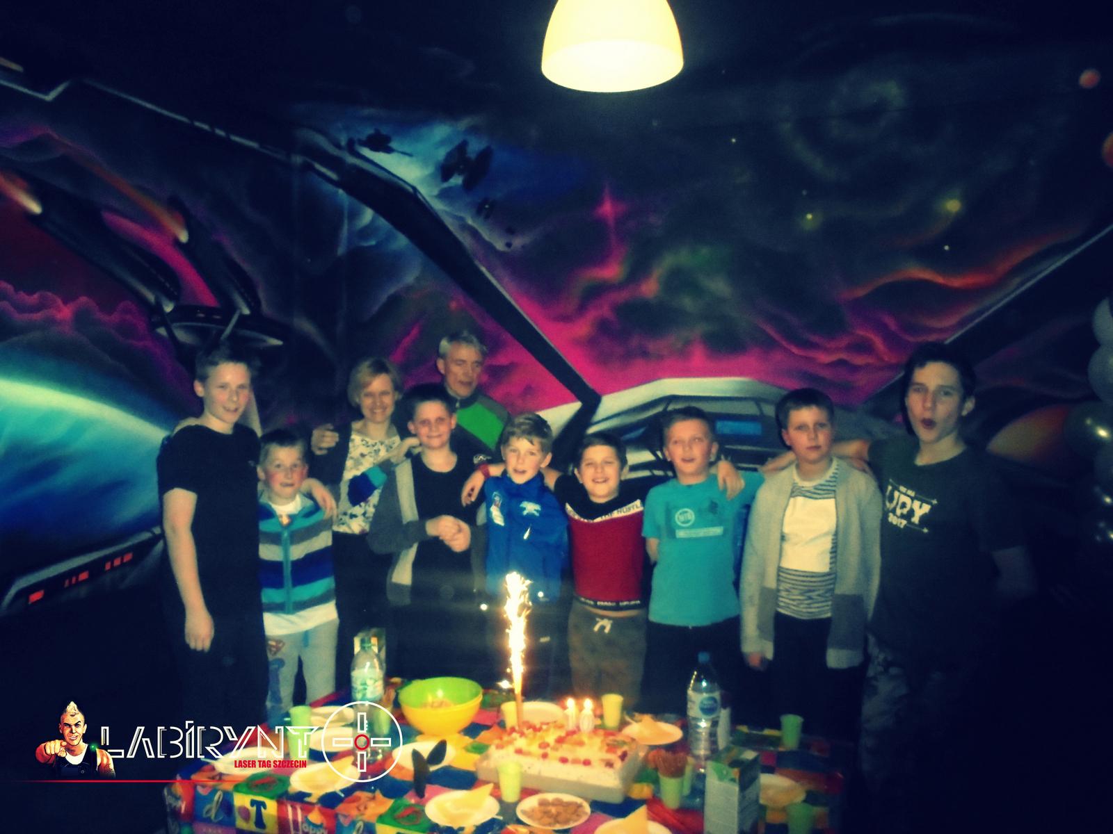 Urodziny nastolatka w Szczecinie