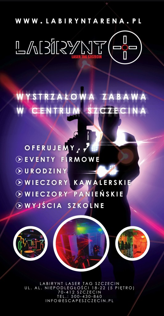 Roll up - Labirynt Laser Tag Szczecin